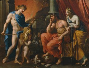 Orpheus before Pluto and Persephone – Francois Perrier