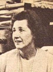 Foto de Eleanor en su trabajo como Matrona.