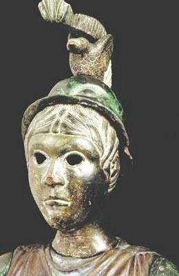 Brigantia-Minerva. Celto-Roman, Brittany, France. Henri Moreau. Creative commons