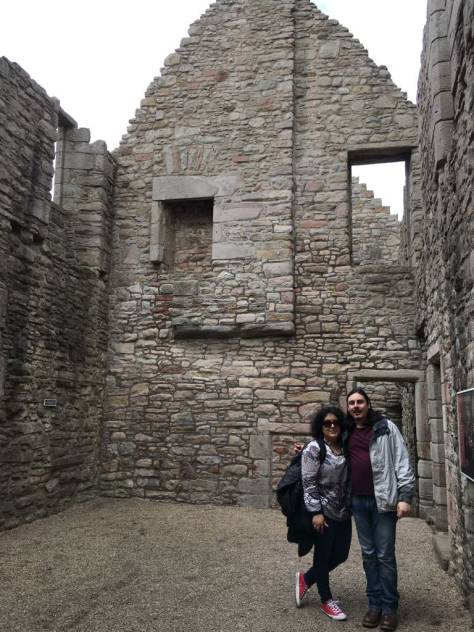 Maddy y Felipe en Escocia, 2018